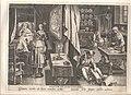 De ontdekking van Guaiacum als middel tegen syfilis, anoniem, Museum Plantin-Moretus, PK OPB 0186 007.jpg