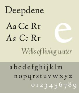 Deepdene (typeface)