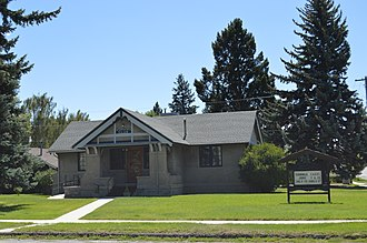 National Register of Historic Places listings in Powell County, Montana - Image: Deer Lodge American Womens League Chapter House