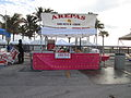 Deerfield Beach Festival of the Arts 2014 Arepas Corn Patty.JPG