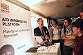 Demonstrating DFIDs concept aid information platform at Open Up! (8185404013).jpg