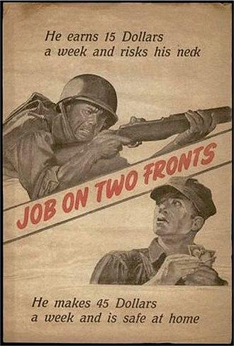 Demoralization (warfare) - Front of leaflet