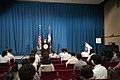 Deputy USTR Cutler's Tokyo Press Conference on Trade Negotiations (9469269455).jpg