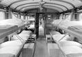 Der Bettentrakt in einem Sanitätszug - CH-BAR - 3238646.tif