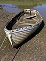 Derelict rowboat, near Creek Cottage, Woodside - geograph.org.uk - 504660.jpg