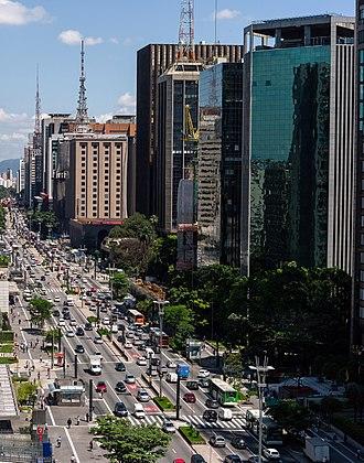 Paulista Avenue - Buildings on the avenue