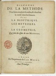 René Descartes: Discours de la méthode pour bien conduire sa raison et chercher la vérité dans les sciences