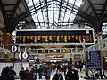 Destination board at Liverpool Street station - geograph.org.uk - 1705653.jpg