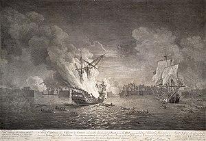 Cape Breton Island - Siege of Louisbourg (1758)