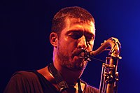 Deutsches Jazzfestival 2013 - Guillaume Perret and The Electric Epic - Guillaume Perret - 09.JPG