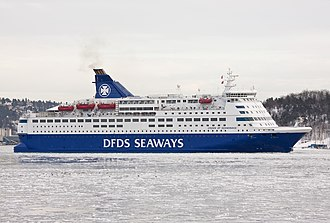 DFDS Seaways - Crown of Scandinavia departing Oslo