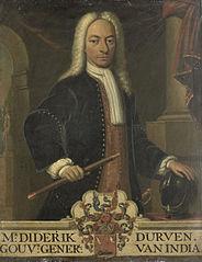 Diederik van Durven (1676-1740). Gouverneur-generaal (1729-30)