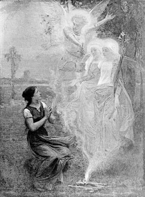 Voix céleste - Image: Diogene Maillart Jeanne d'Arc et les voix celestes