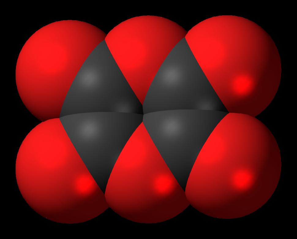 Dioxane tetraketone molecule