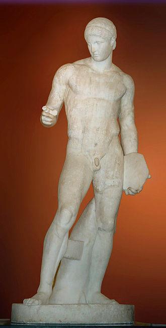 Polykleitos - Image: Discophoros BM