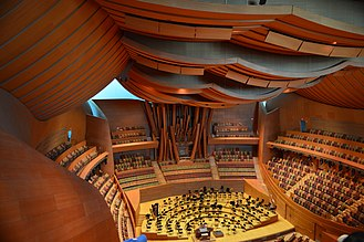 Walt Disney Concert Hall - The auditorium