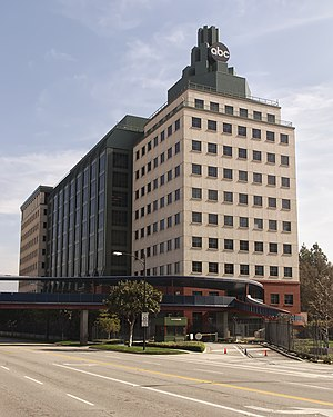 ABC Studios - Disney Studio's ABC building located in Burbank, California.