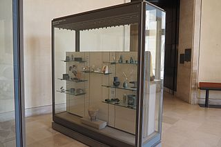 Near Eastern Antiquities, room 8, display case 4