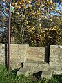Distinctive stone stile in Nercwys - geograph.org.uk - 281282.jpg