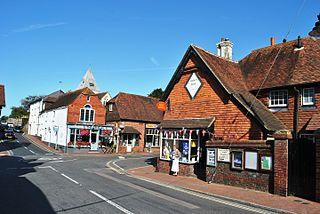 Ditchling village in United Kingdom
