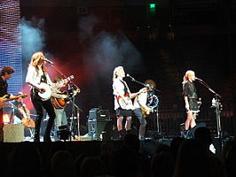 Optreden van Dixie Chicks bij het Frank Erwin Center op 4 december 2006 in Austin, Texas tijdens de Accidents & Accusations Tour.