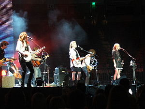 Dixie Chicks - The Dixie Chicks at Frank Erwin Center in Austin, Texas, during the Accidents & Accusations Tour, 2006