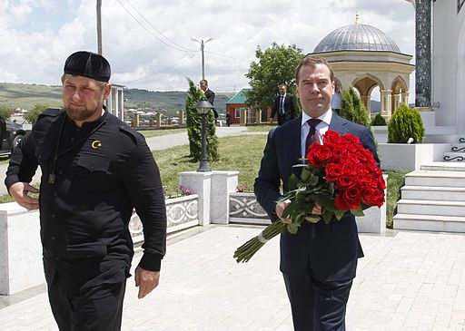 Dmitry Medvedev and Ramzan Kadyrov 19 June 2012 09