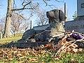 Dog statue in GWC (33552).jpg
