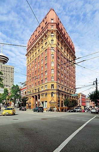 Dominion Building - Image: Dominion Building Vancouver 03