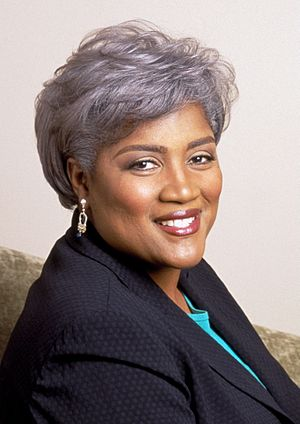 American political strategist Donna Brazile.