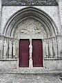 Donnemarie-Dontilly (77) Église N.D. Portail occidental 02.JPG