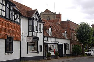 Dorchester on Thames - Image: Dorchester Post Office geograph.org.uk 1419421
