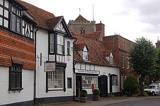 Dorchester on Thames Village in Oxfordshire in the United Kingdom