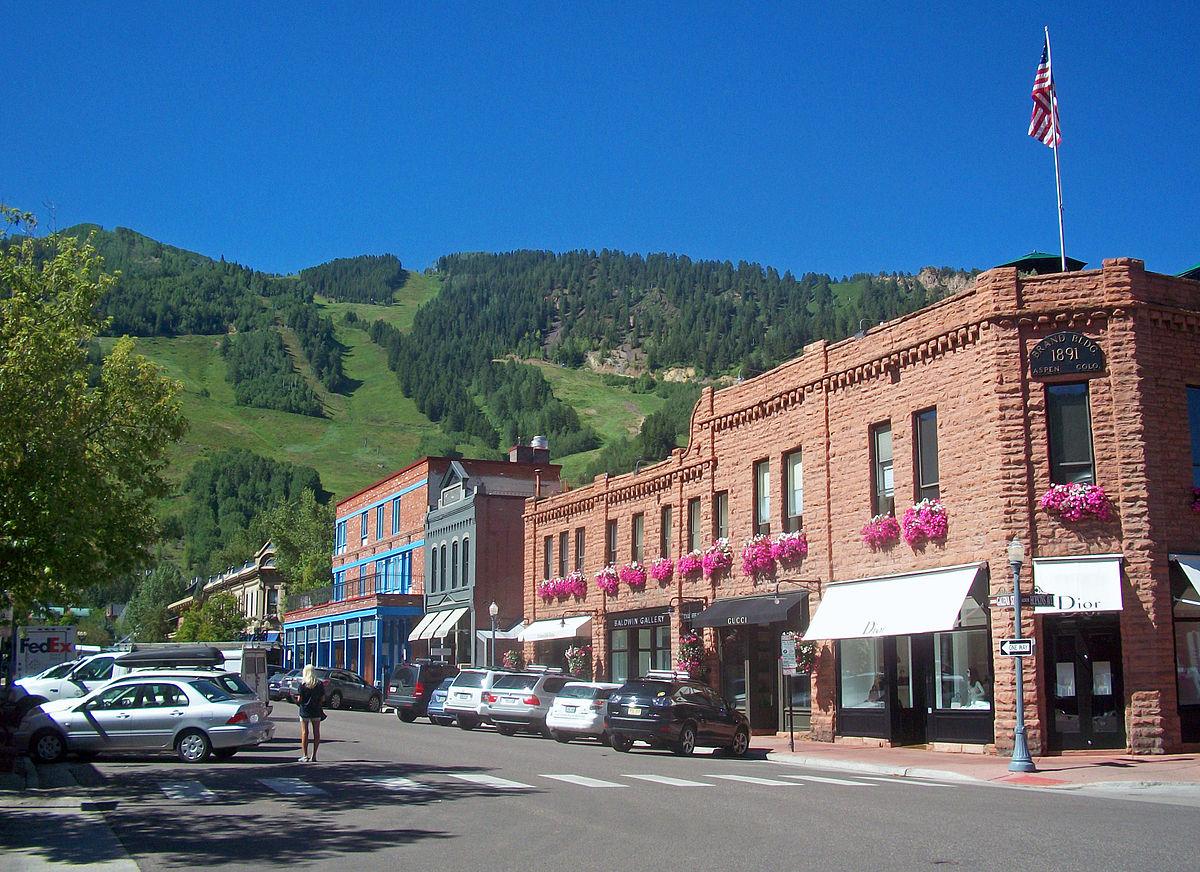 Aspen colorado wikipedia for Aspen house