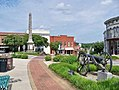 Downtown Chester and Confederate Cannon and Monument.jpg