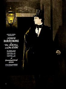 Dr Jekyll and Mr Hyde 1920 movie trading cards John Barrymore Classic Horror