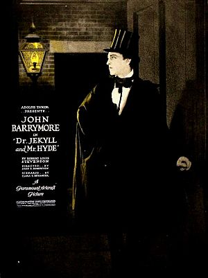 Dr. Jekyll and Mr. Hyde (1920 film) - Lobby poster