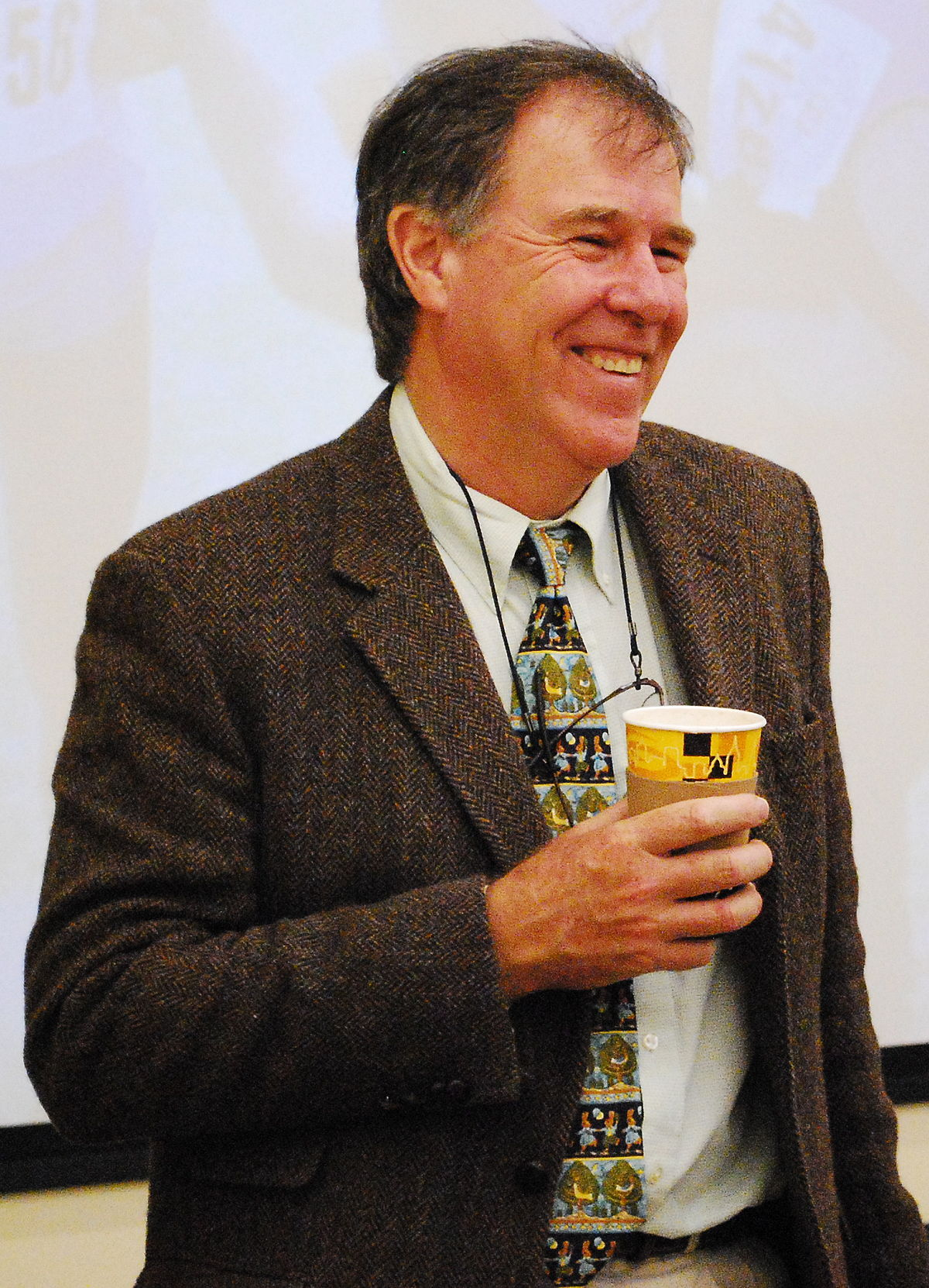 1200px Dr. Tim Noakes at West Point 13 Nov 09