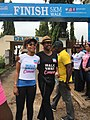 Dr Kemi Ibru and Aisha Rimi at the Walk for Cancer in Abuja, Nigeria.jpg