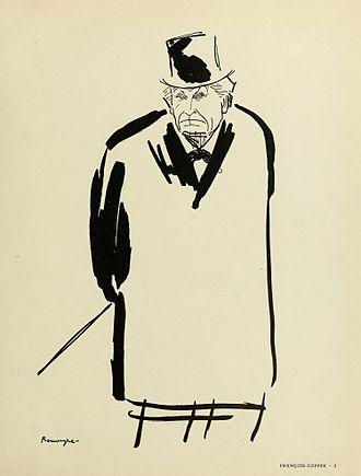 François Coppée - François Coppée, by André Rouveyre.