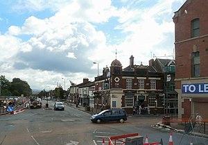 Droylsden - Image: Droyslden Town Centre