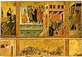 Duccio di Buoninsegna e sua bottega, Maestà del Duomo di Massa Marittima, Storie della Passione di Cristo, Workshop of Duccio di Buoninsegna about 1311-1324.jpg