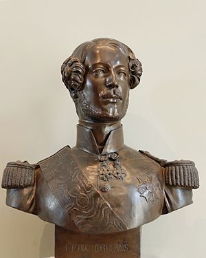 James Pradier - Memorial bust of the duc d'Orléans, 1842 (Louvre Museum)