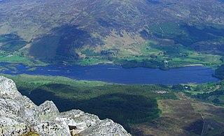 Dunalastair Water lake in the United Kingdom