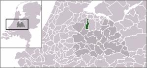 Loenen - Image: Dutch Municipality Loenen 2006