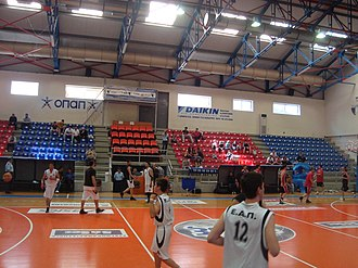 E.A. Patras - E.A. Patras indoor hall