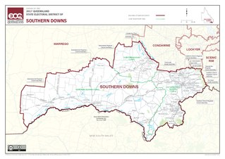 Electoral district of Southern Downs