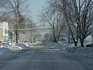 Connecticut - Winter in East Haven