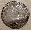 ENGLAND, ELIZABETH I -SIXPENCE SECOND COINAGE SMALL SIZE 1567 b - Flickr - woody1778a.jpg