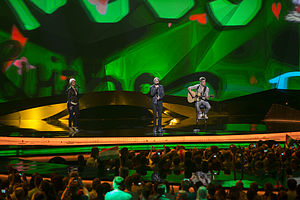 Hungary in the Eurovision Song Contest - Image: ESC2013 Hungary 01